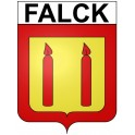 Stickers coat of arms Falck adhesive sticker