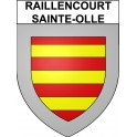 Stickers coat of arms Raillencourt-Sainte-Olle adhesive sticker