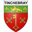 Stickers coat of arms Tinchebray adhesive sticker
