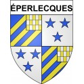 Stickers coat of arms éperlecques adhesive sticker