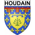 Stickers coat of arms Houdain adhesive sticker
