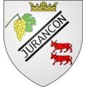 Stickers coat of arms Jurançon adhesive sticker