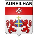 Stickers coat of arms Aureilhan adhesive sticker