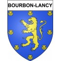 Stickers coat of arms Bourbon-Lancy adhesive sticker