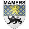 Stickers coat of arms Mamers adhesive sticker