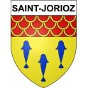 Stickers coat of arms Saint-Jorioz adhesive sticker