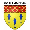 Stickers coat of arms Saint-Jorioz adhesive sticker