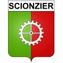Stickers coat of arms Scionzier adhesive sticker