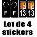 2B Corse placa etiqueta