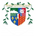 Stickers coat of arms Baron adhesive sticker