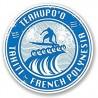 2 x 10 cm - Tahiti Teahupo'o Polynésie surf french polynesia logo 29 autocollant adhésif sticker