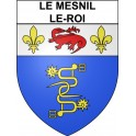 Le Mesnil-le-Roi 78 ville Stickers blason autocollant adhésif