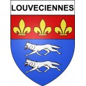 Stickers coat of arms Louveciennes adhesive sticker