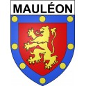 Stickers coat of arms Mauléon adhesive sticker