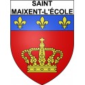 Stickers coat of arms Saint-Maixent-l'école adhesive sticker