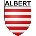 Stickers coat of arms Albert adhesive sticker