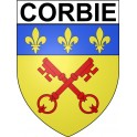 Stickers coat of arms Corbie adhesive sticker