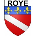 Stickers coat of arms Roye adhesive sticker