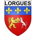 Stickers coat of arms Lorgues adhesive sticker