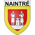 Stickers coat of arms Naintré adhesive sticker