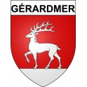 Stickers coat of arms Gérardmer adhesive sticker