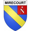 Stickers coat of arms Mirecourt adhesive sticker