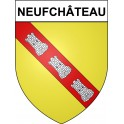 Stickers coat of arms Neufchâteau adhesive sticker