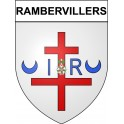 Stickers coat of arms Rambervillers adhesive sticker