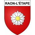 Stickers coat of arms Raon-l'étape adhesive sticker