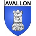 Stickers coat of arms Avallon adhesive sticker