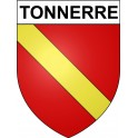 Stickers coat of arms Tonnerre adhesive sticker