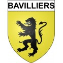 Stickers coat of arms Bavilliers adhesive sticker