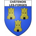 Stickers coat of arms Châtenois-les-Forges adhesive sticker