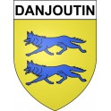 Stickers coat of arms Danjoutin adhesive sticker