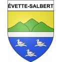 Stickers coat of arms évette-Salbert adhesive sticker