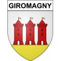 Giromagny 90 ville Stickers blason autocollant adhésif