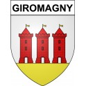 Stickers coat of arms Giromagny adhesive sticker