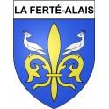 Stickers coat of arms La Ferté-Alais adhesive sticker