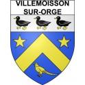 Villemoisson-sur-Orge 91 ville Stickers blason autocollant adhésif
