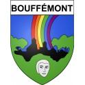Bouffémont 95 ville Stickers blason autocollant adhésif