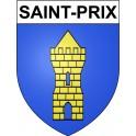 Stickers coat of arms Saint-Prix adhesive sticker