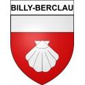 Stickers coat of arms Billy-Berclau adhesive sticker