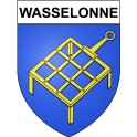 Stickers coat of arms Wasselonne adhesive sticker
