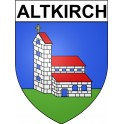 Stickers coat of arms Altkirch adhesive sticker