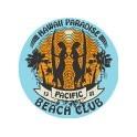 Vague Motif Surf Hawaii Bali Wave autocollant sticker adhesif logo numéro 9
