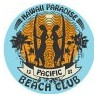 2 x Hawaii sticker surf autocollant vinyle, iPad, ordinateur portable, mallette, la plage fun logo 4318, pacifique
