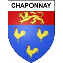 Stickers coat of arms Chaponnay adhesive sticker