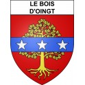 Stickers coat of arms Le Bois-d'Oingt adhesive sticker
