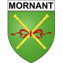 Adesivi stemma Mornant adesivo