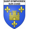 Stickers coat of arms Saint-Symphorien-sur-Coise adhesive sticker